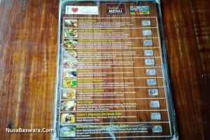 daftar harga menu di omah selat solo